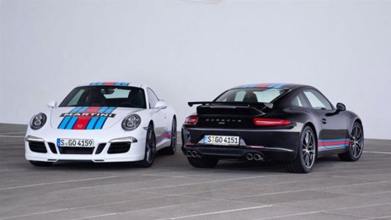 El 911 Martini Racing celebra la historia de la marca en las 24 Horas de...