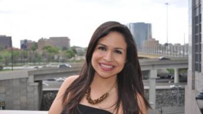 En en honor al primer aniversario de Noticias 34 Atlanta, Mariela Romero...