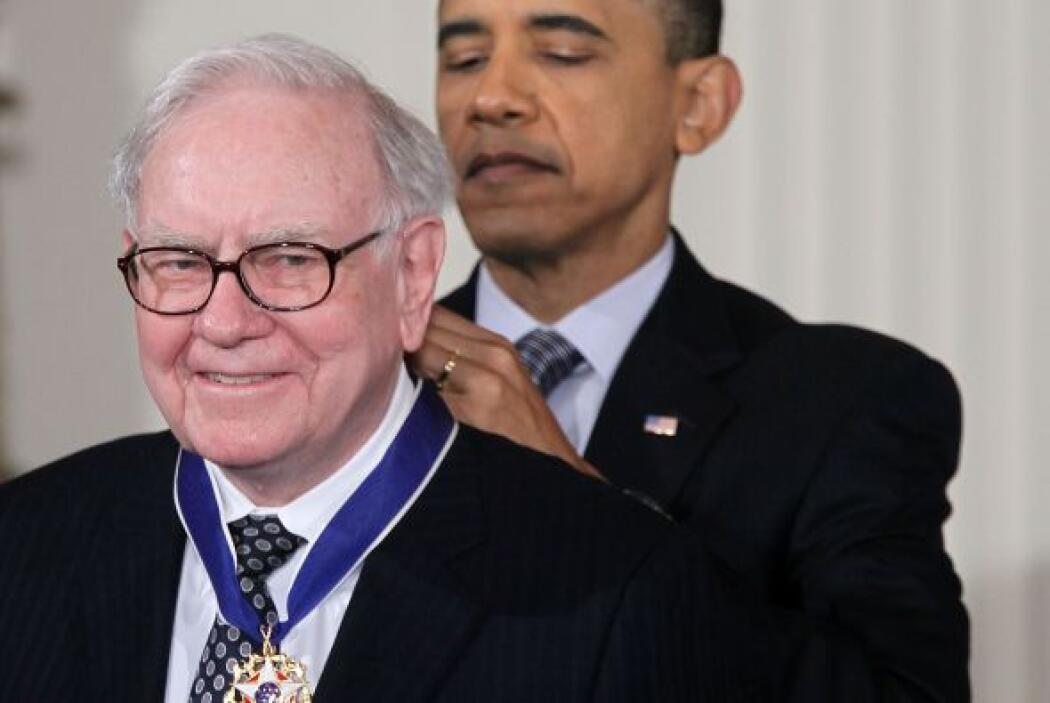 Buffett precisó que los más acaudalados de EU sólo pagan un 15% de impue...