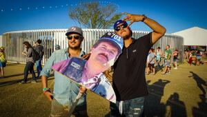 El líder de la mafia estuvo presente en el festival de música.