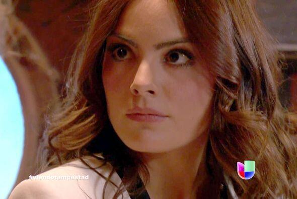 """Ximena interpretó a """"Marina"""", una mujer valiente y trabajadora."""