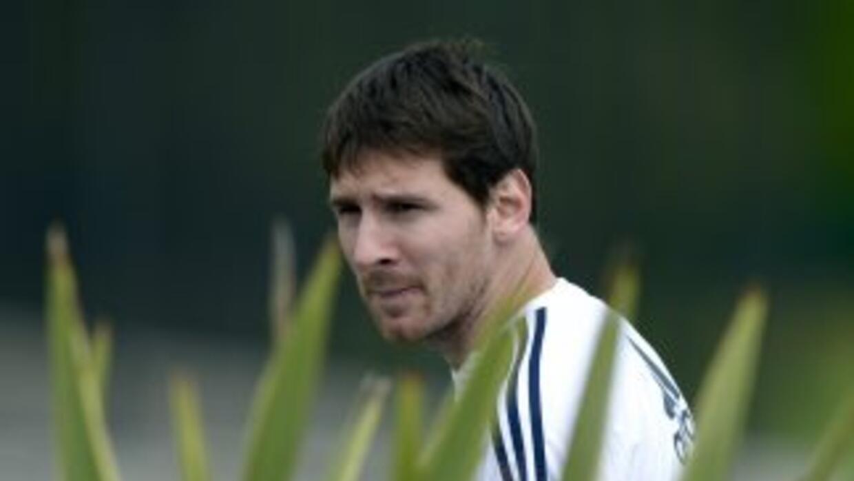 El futbolista argentino Lionel Messi.