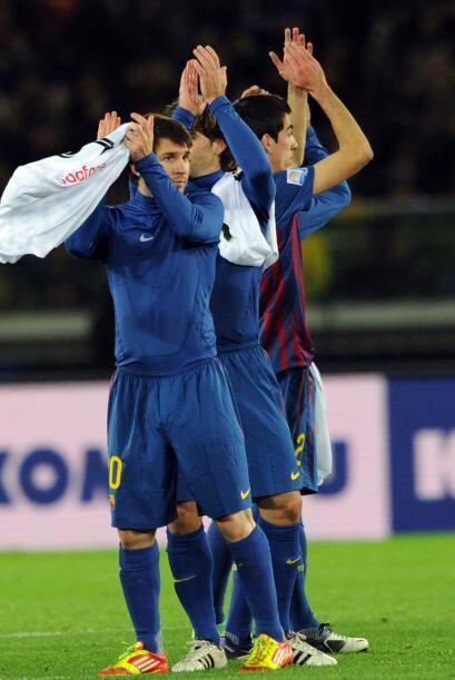 Al final, el equipo español se despidió con amables saludo...