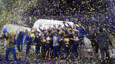 Boca Juniors es campeón de la Copa Argentina