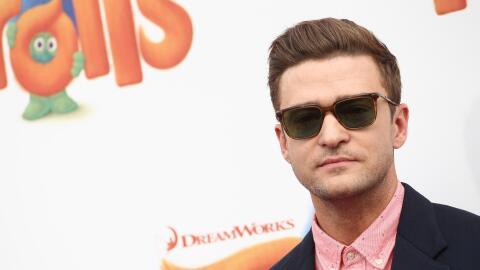 Justin Timberlake se tomó una fotografía en un centro de votación en Ten...