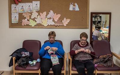 Mujeres mayores españolas