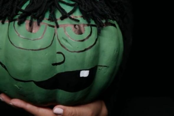 Calabaza Frankenstein