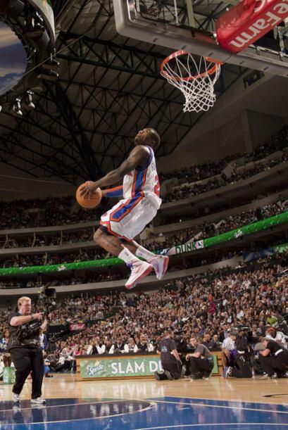 2010 - 2010 - Nate Robinson, de los Knicks de Nueva York la clava durant...