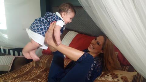 Adriana Macías mamá