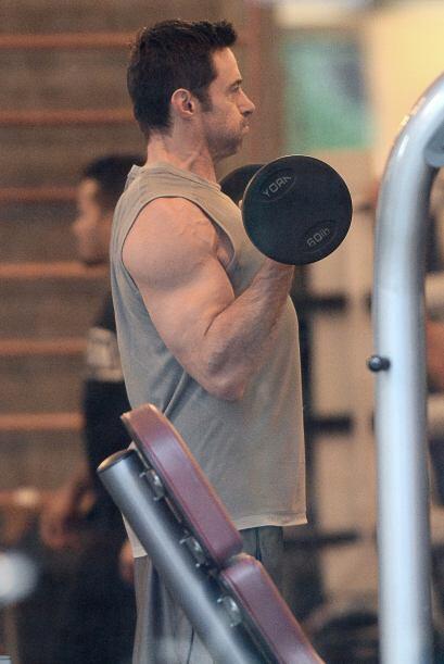 Ahí como lo ven, los músculos de Hugh Jackman no son solo...
