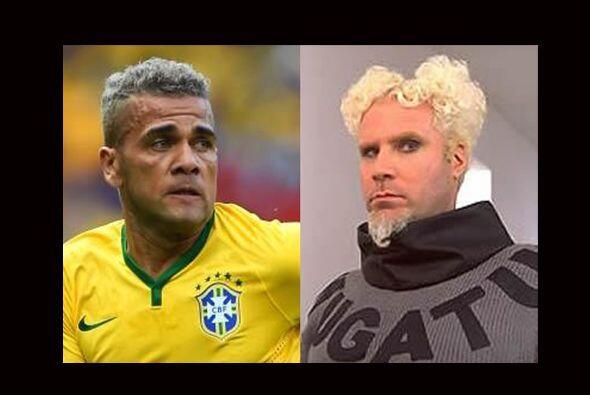 Si recuperara el 'look' que mostró en Brasil 2014, a Dani Alves n...