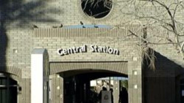 Estacion central de autobus y tren ligero