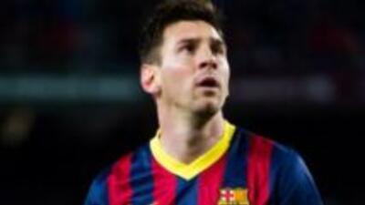 El jugador del Fútbol Club Barcelona, Lionel Messi.