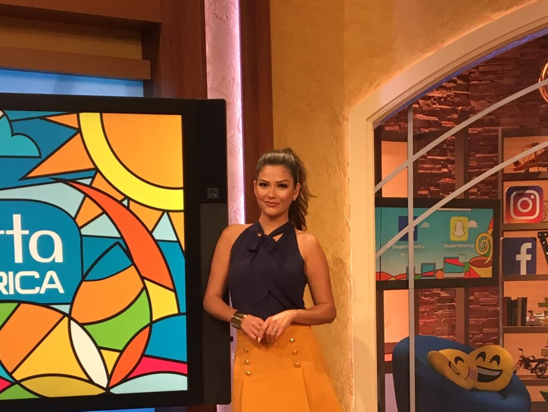 Despierta América look Ana Patricia