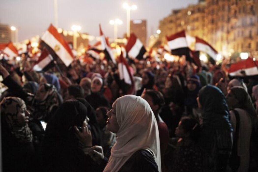 Para el 30 de junio de 2012, por la vía democrática, Mohamed Mursi fue e...