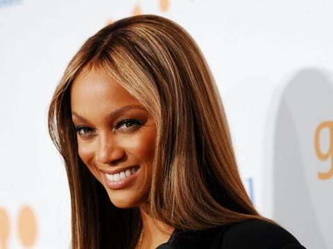 La top-model Tyra Banks ha estado asistiendo a la Harvard Business Schoo...