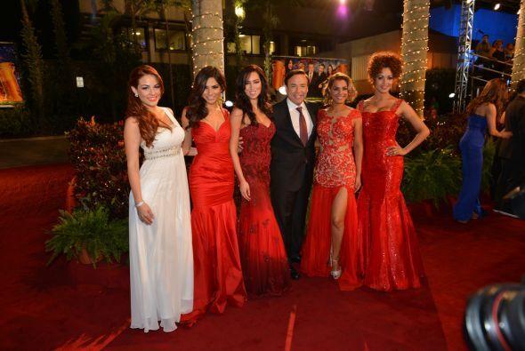Las modelos han sido parte fundamental del show.