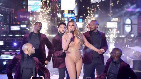 A pesar de la evidente frustración de Mariah Carey, su cuerpo de...