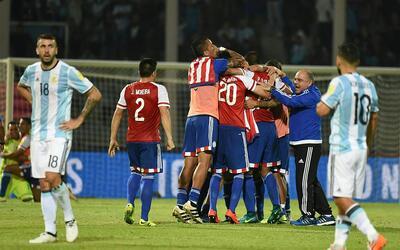Derlis González le dio el triunfo a Paraguay