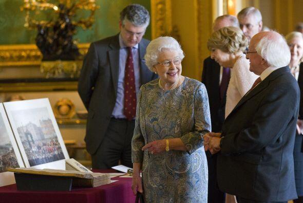 La ceremonia se realizó con todos los honores en el Castillo de Winsor.