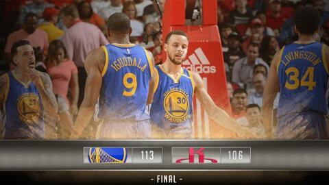 Stephen Curry anotó 32 puntos, Klay Thompson añadió...