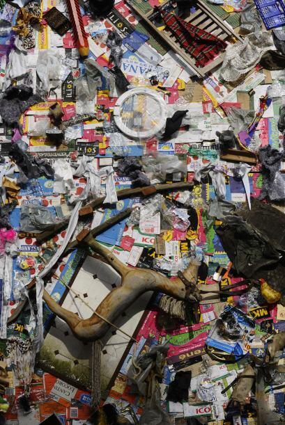 Alrededor del 30% y 40% de los objetos se recogieron en playas europeas...