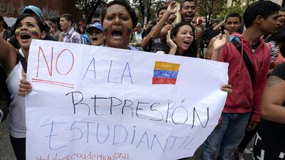 Video difundido por la oposición denuncia la represión del gobierno a lo...