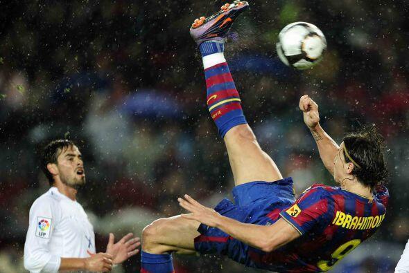 El sueco Zlatan Ibrahimovic volvió a estar falto de punter&iacute...