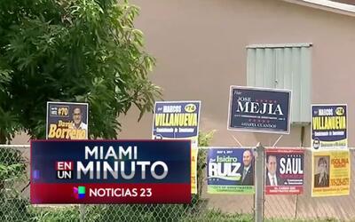 'Miami en un Minuto': la Fiscalía de Miami-Dade investiga a un candidato...