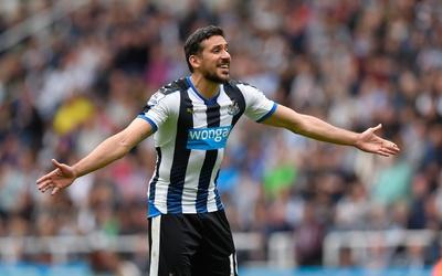Jonás Gutiérrez dejó al Newcastle para fichar con el Dépor.