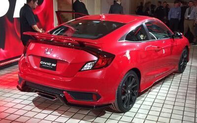 Honda nos adelanta los detalles del nuevo Civic Si con este prototipo