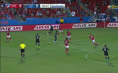 Con este golazo de Hyka, San José está terminando con el invicto del FC...