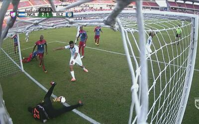 Nicaragua logra el 2-1 aunque hay incertidumbre sobre si el balón entró