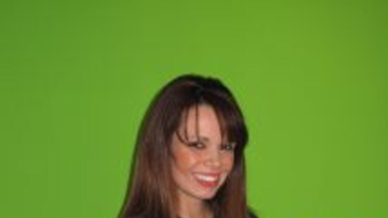 Alejandra Gutiérrez, quien fuera la primer latina en representar interna...
