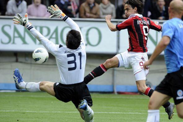 Pero el momento épico se dio con el eterno delantero Filippo Inza...