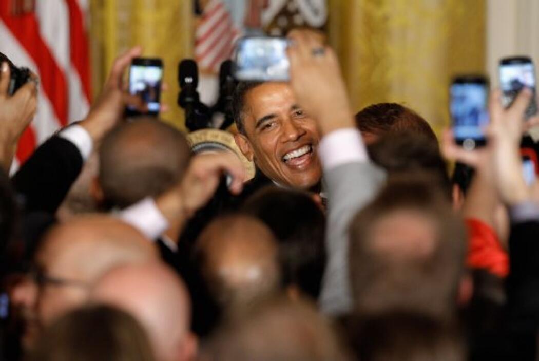 9 de mayo. El presidente de Estados Unidos, Barack Obama, se declara a f...