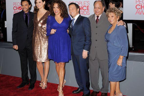 También incursionó en la televisión estadounidense con la comedia latina...