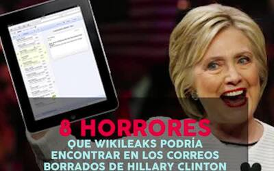 Lo que podría salir en los emails de Hillary Clinton