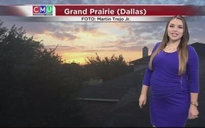 Se prevén tormentas para este miércoles en Dallas