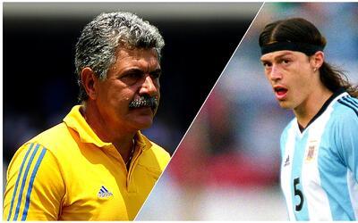 Ricardo Ferretti y Matías Almeyda