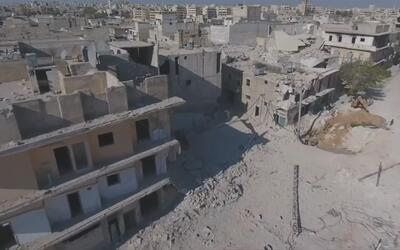 Imágenes muestran los daños masivos en Alepo