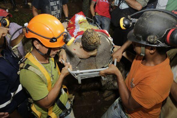 Habían establecido previamente contacto con los equipos de rescate.
