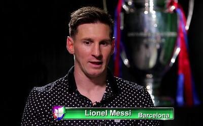 """Lionel Messi: """"Me gustaría algún día jugar en Newell's en el torneo arge..."""