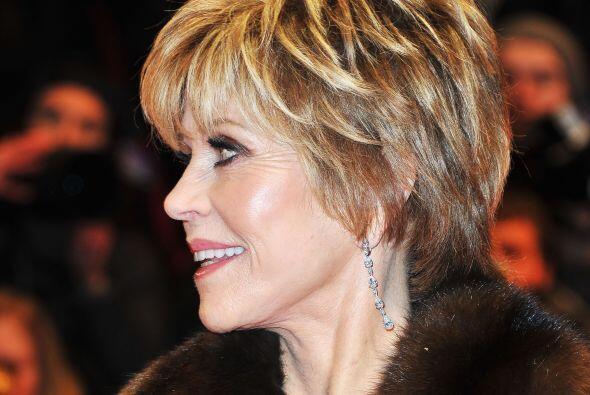 A sus 75 años Jane Fonda es una de las celebridades más be...