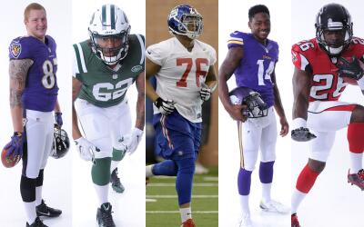 Maxx Williams (BAL), leonard williams (NYJ), Ereck Flowers (NYG), Stefon...