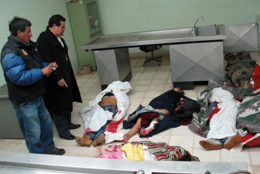 25 diciembre 2008.- Cinco personas mueren asfixiadas en la discoteca Boo...