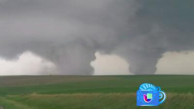 Tornados gemelos causan estragos en Nebraska