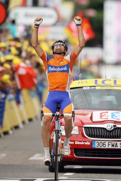 Sánchez consiguió la primera victoria española en el Tour 2012.