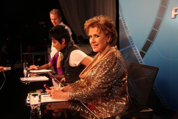Laura Zapata es la jueza de hierro. La actriz compartirá su exper...