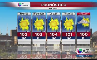 Tormenta tropical Kay mantendrá la humedad en Arizona